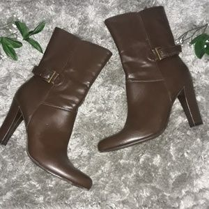 Cato brown ankle boots
